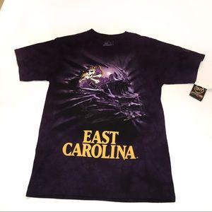 Other - East Carolina University ECU Purple Tie Dyed Tee